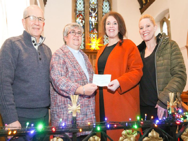 Miller Homes has donated 250 to St Pauls Church in Warton to support its fund-raising efforts for a new roof for the historic building.