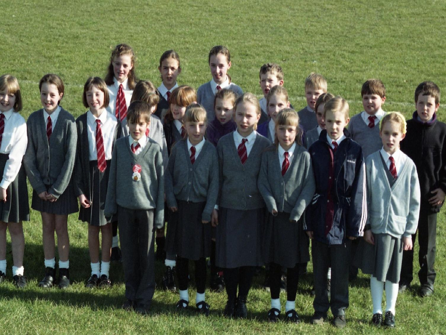 St Peter's School choir, Chorley