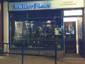 Indian Blues: 7 Corporation Street, Chesterfield, S41 7TU. Picture: Google Maps