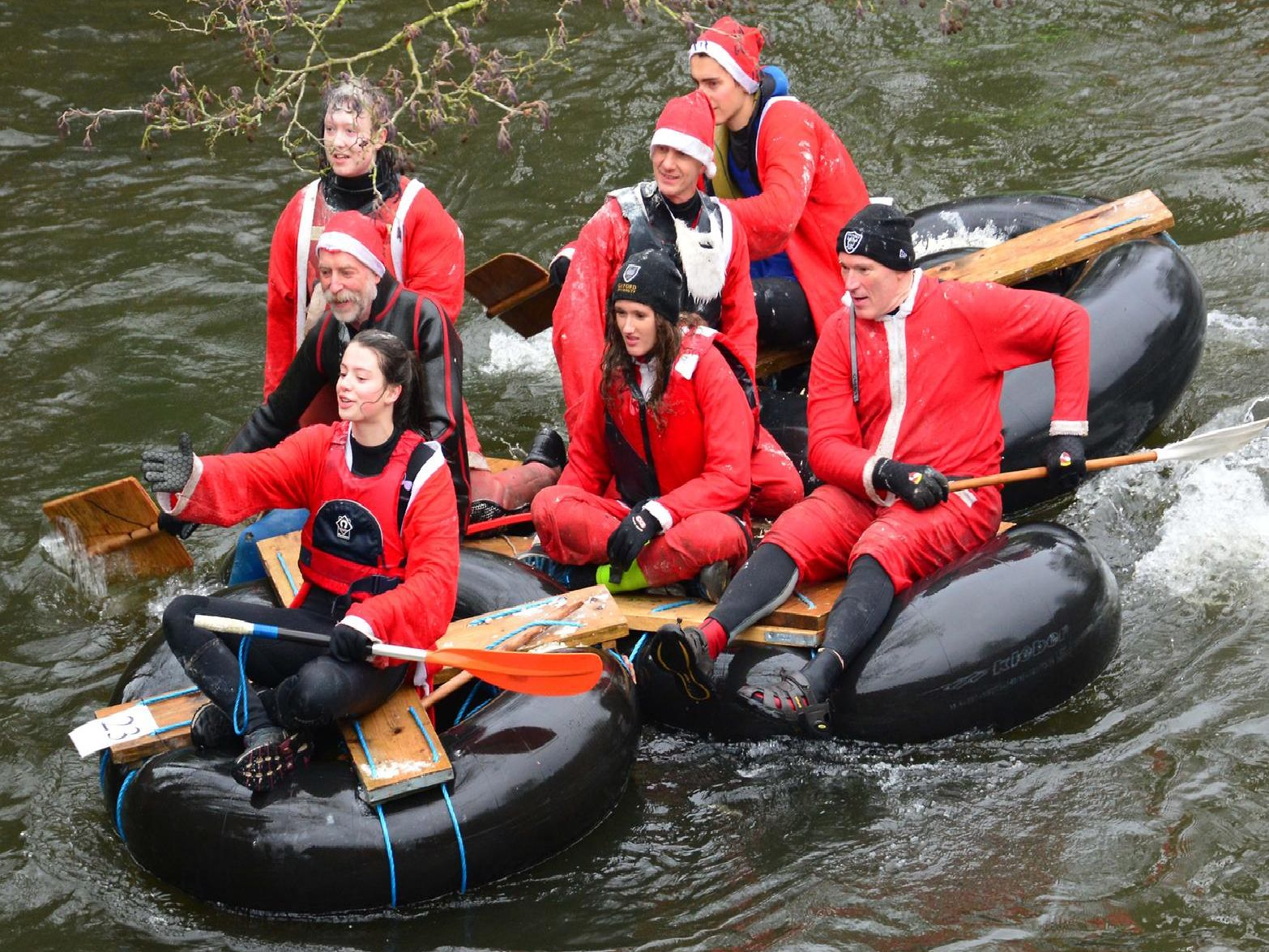 Matlock raft race was a great success. Picture by Nick Rhodes.