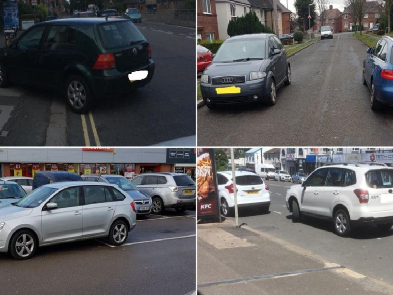Bad parking in Chesterfield