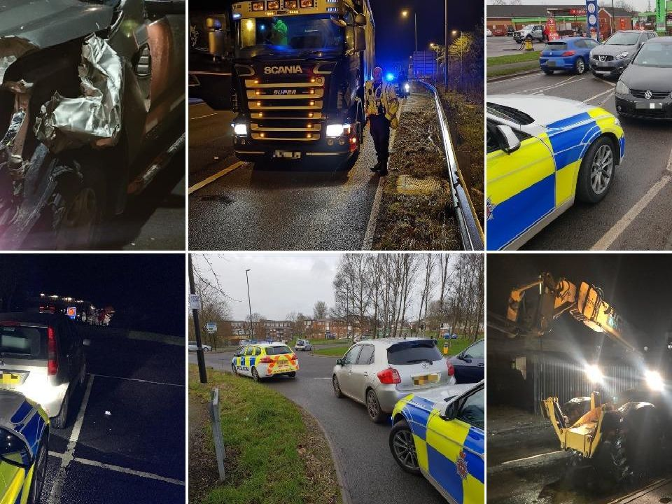 Every car seized by Derbys Police in the last week
