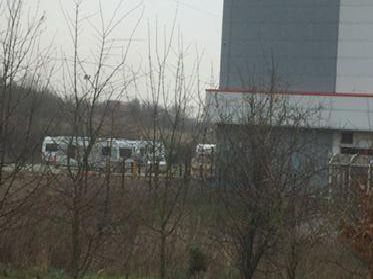 Submitted picture of the caravans at Markham Vale.