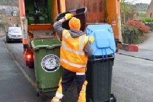 Council taxpayers in the Derbyshire Dales will be bankrolling a fleet of new bin lorries despite the service being carried out by a private company. Pic: Derbyshire Dales District Council