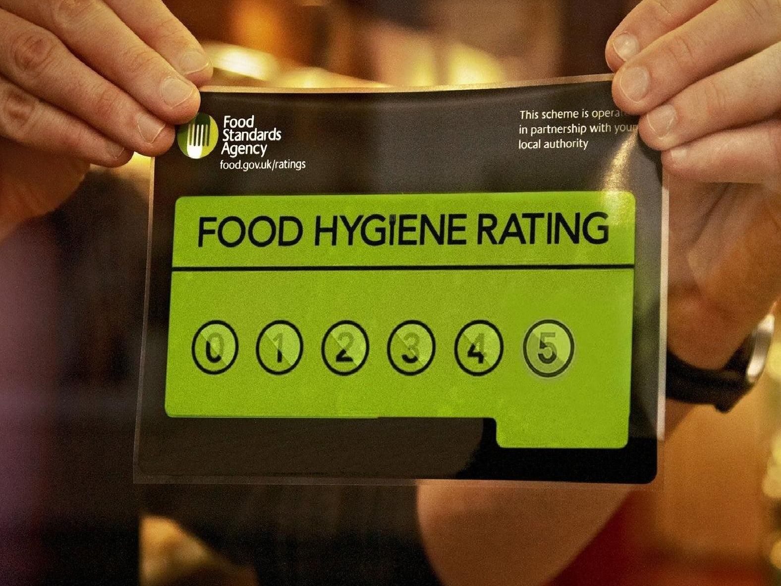 1 star food hygiene ratings in Ches
