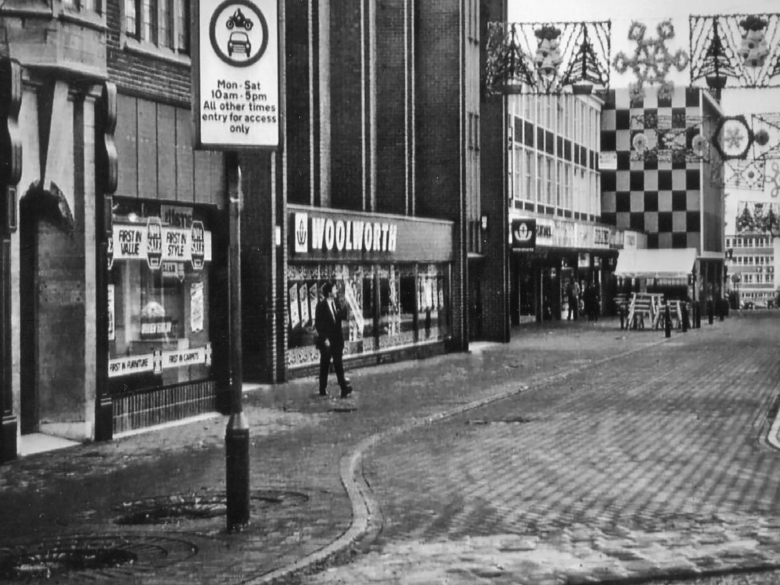 Chesterfield has changed massively over the years