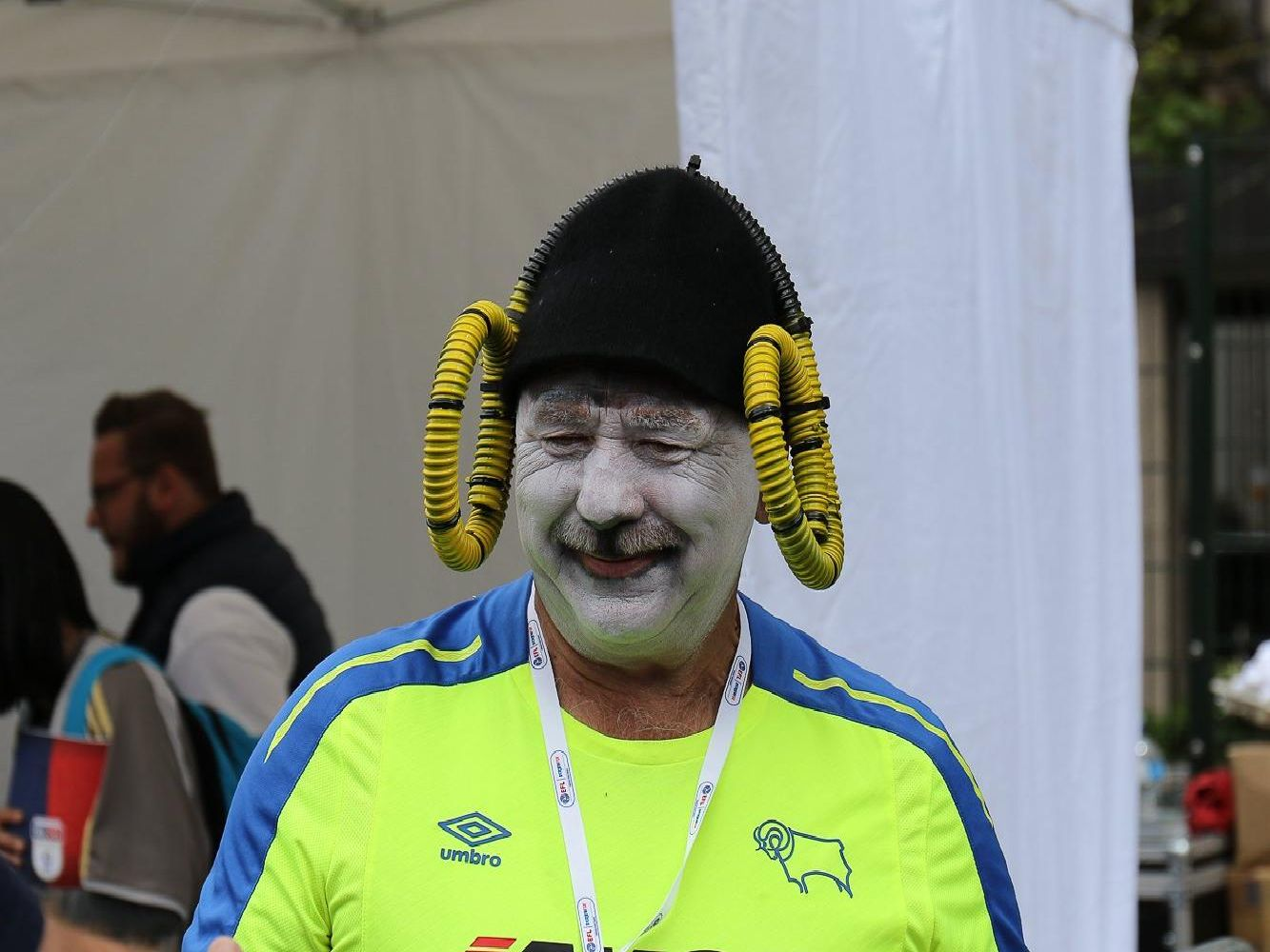 The Rams fans are showing Wembley what they are all about.