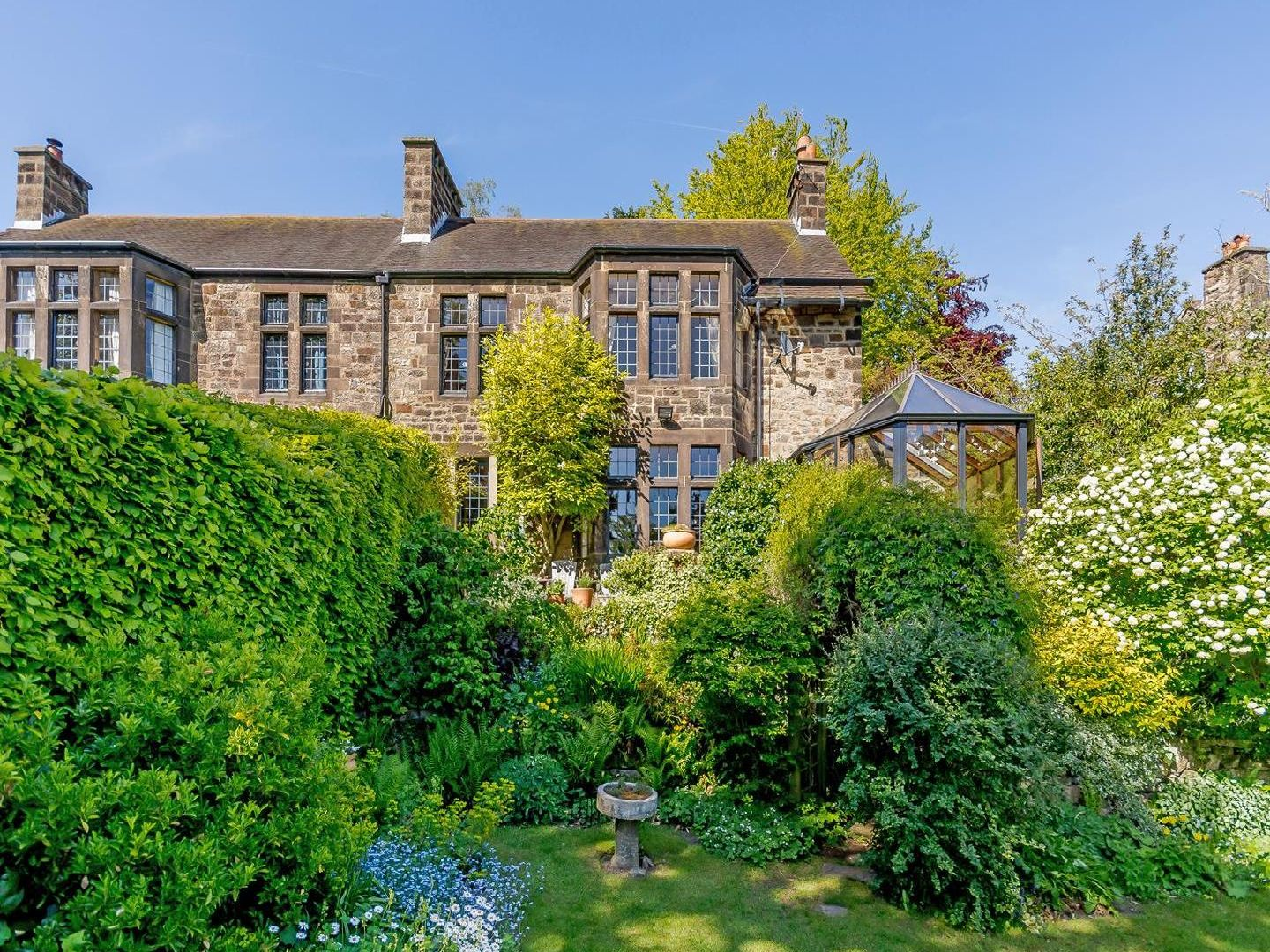 The property is on Cavendish Road in Matlock.