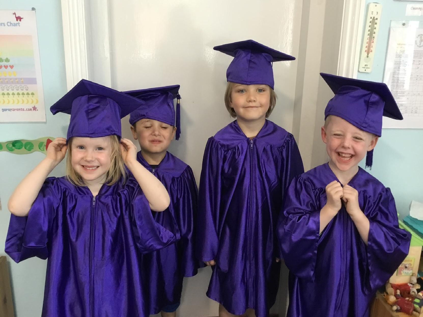 Youngsters excited to graduate