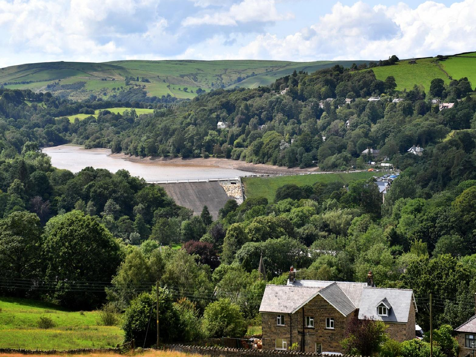Toddbrook Reservoir. Photo Anthony Devlin/Getty Images