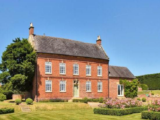 The Grade II-listed property is in Bradley near Ashbourne.