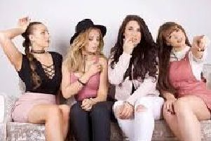 LMX - Little Mix tribute band, performing at Doncaster Little Theatre.