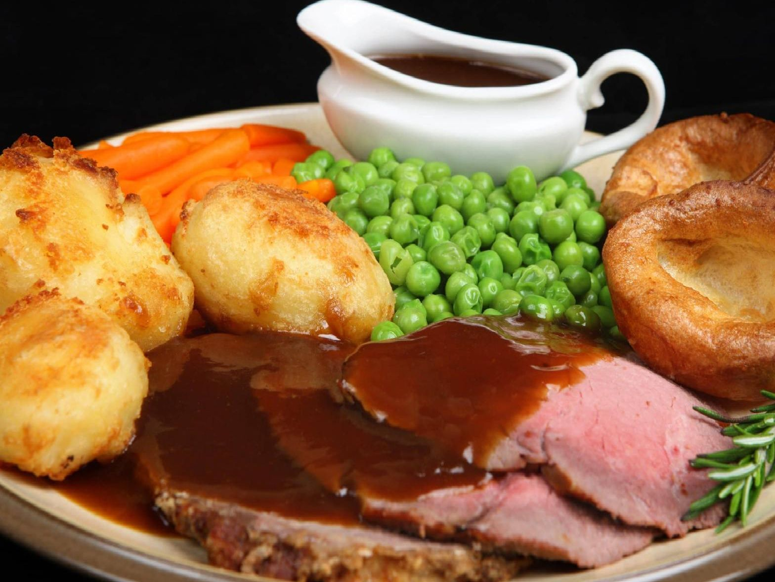 A traditional British carvery