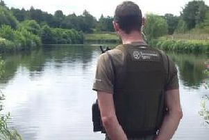 Fisheries Enforcement Officers regularly patrol rivers and lakes across the region.