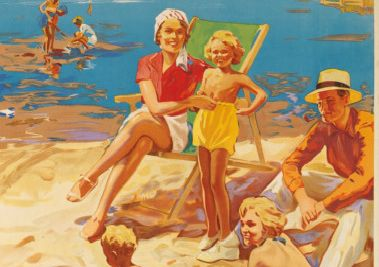 Vintage poster sold at auction - Fleetwood Weekly News