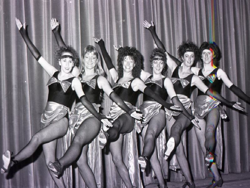 Anyone recognise this lively group of tap dancers?