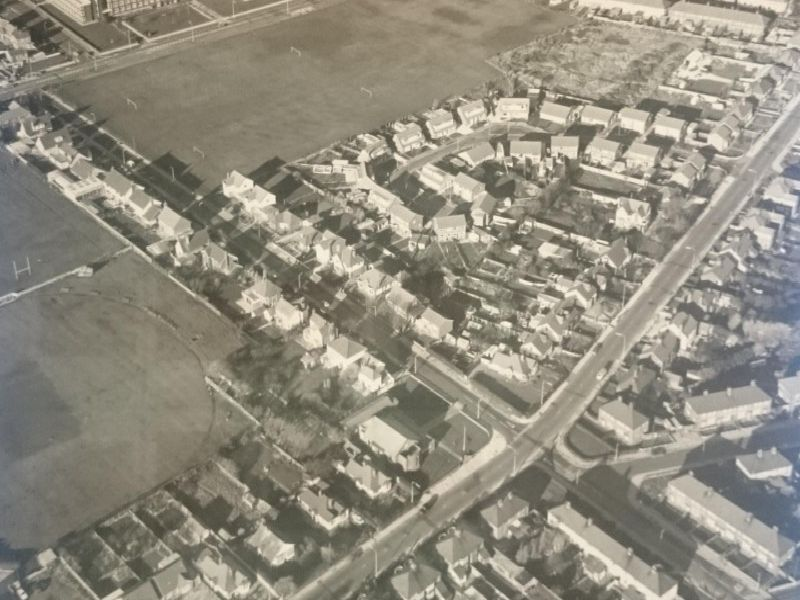 They show the buildings which have long been pulled down and familiar landmarks, which make up the fabric of the coast today, had not even been considered.'Fleetwood Road and Larkholme Lane in Fleetwood, feature above