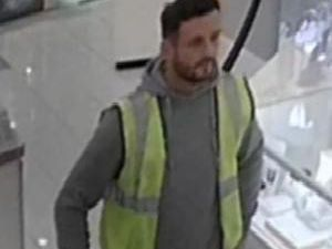 Police would like to speak to the man pictured in connection with the incident.