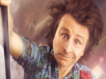 Milton Jones is live at the Baths Hall next year.