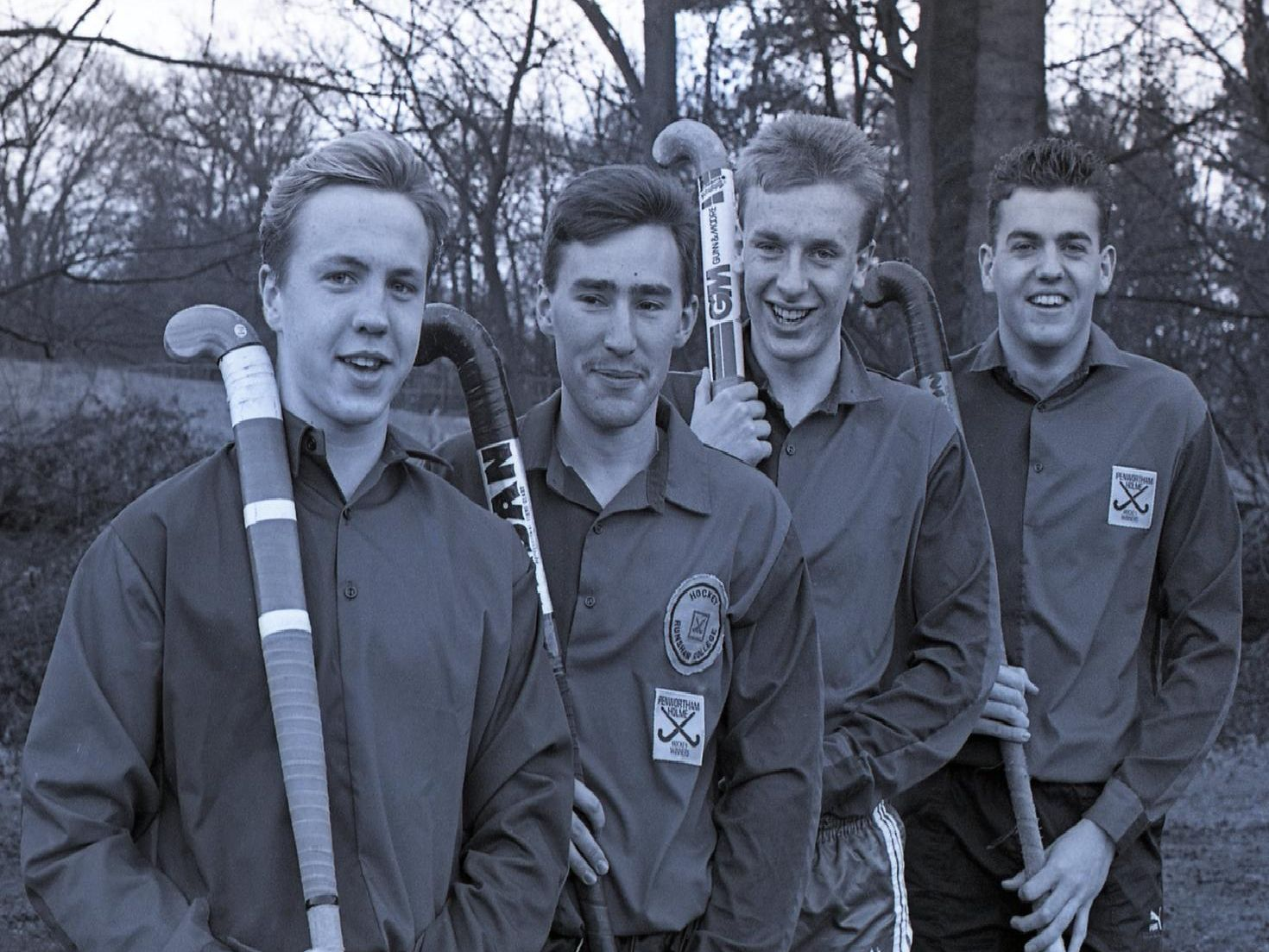 Members of Runshaw College hockey team