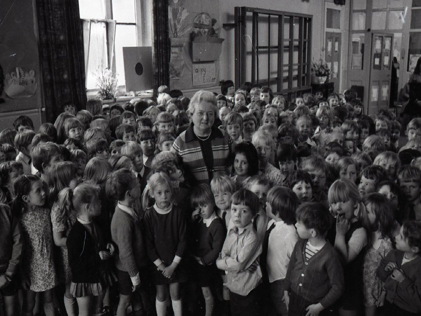 When Miss Marjorie Whittle attended St Andrew's Primary School in Ashton, Preston, 50 years ago, she never dreamt that she would end up as its headmistress. But that's just what she went on to do. And now, after spending almost her entire teaching career at the school, Miss Whittle is to retire. The school gave her a rousing send-off