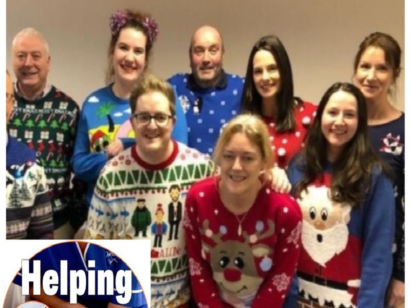 Overgate Hospice Christmas Jumper Day