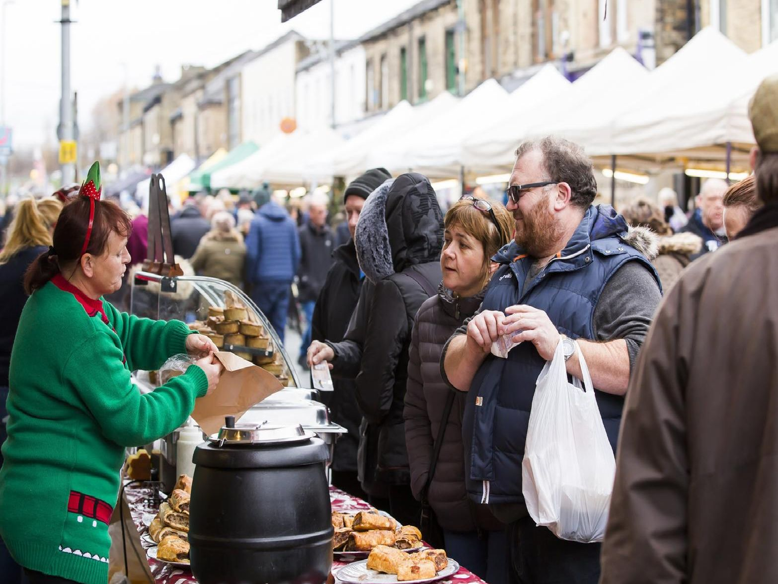 The Brighouse Christmas Market
