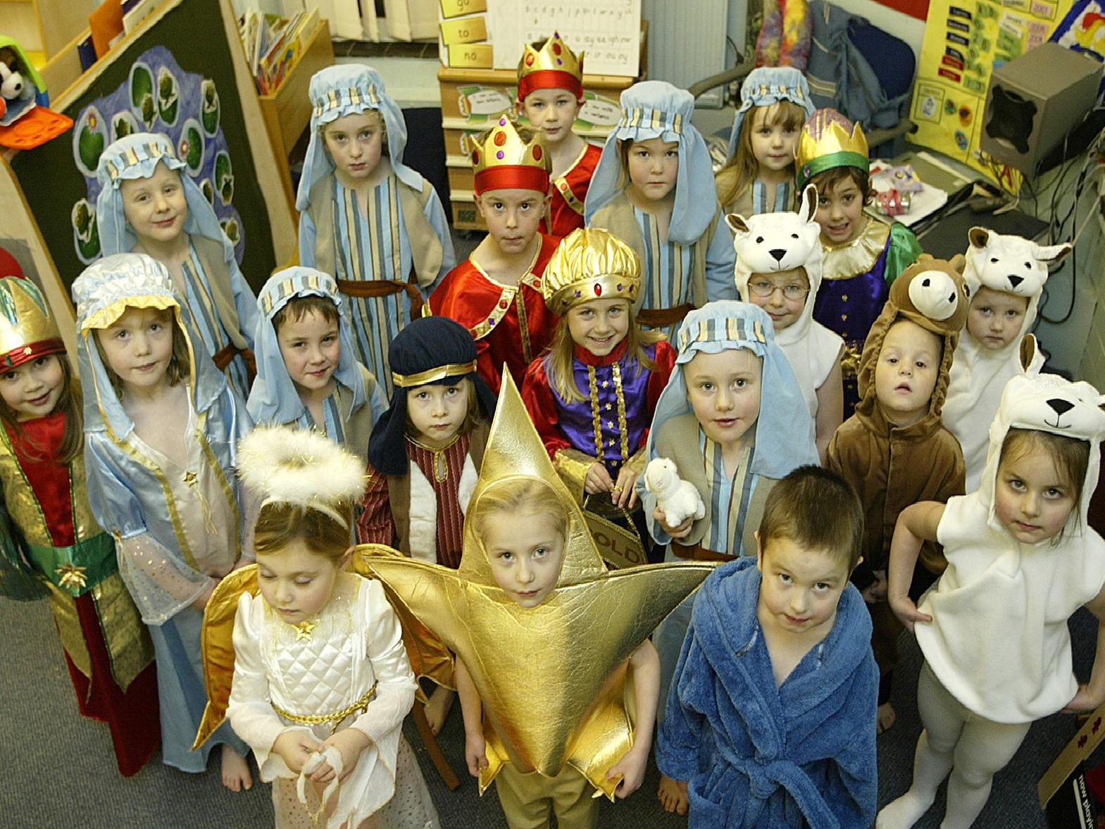 Eleven more nativites from the past
