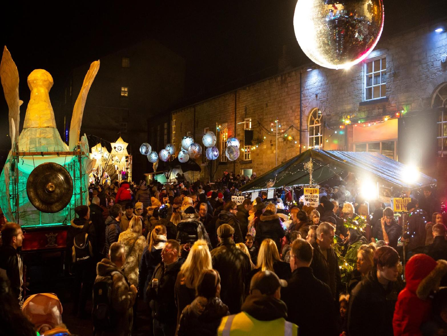 Nine of the best pictures from the Sowerby Bridge Winterlight festival