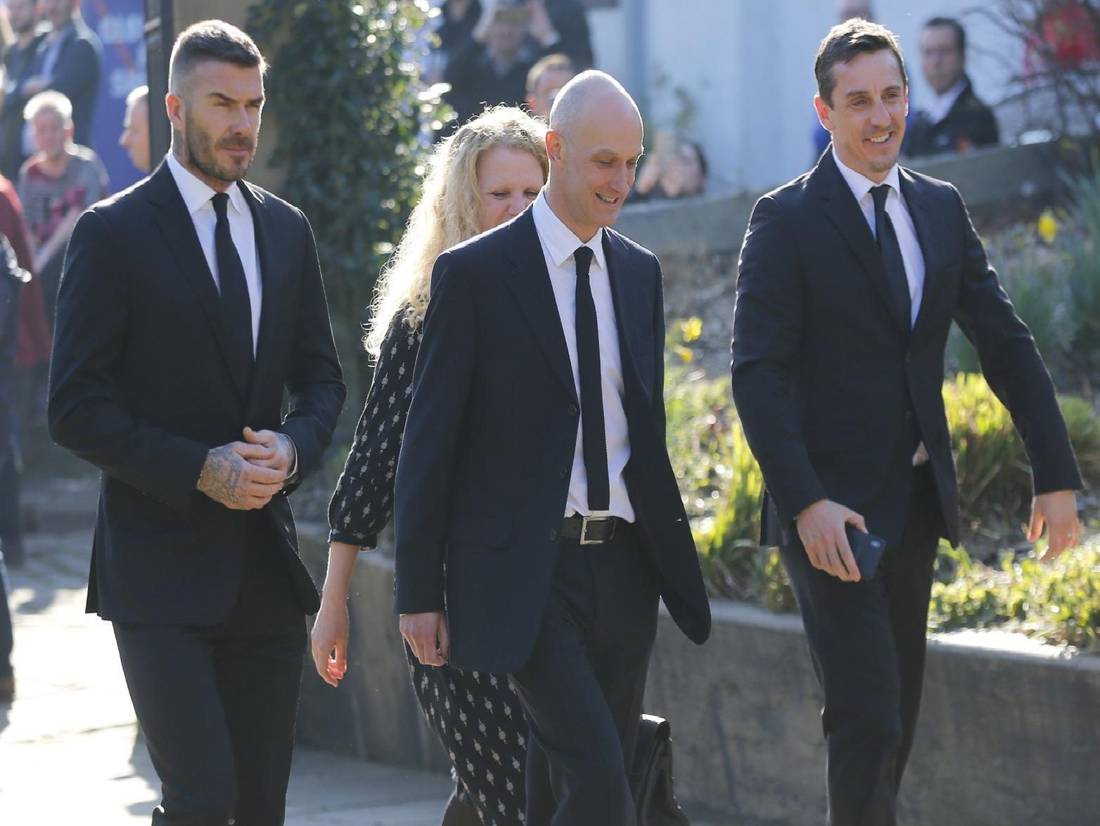 Here are the stars who came to pay tribute