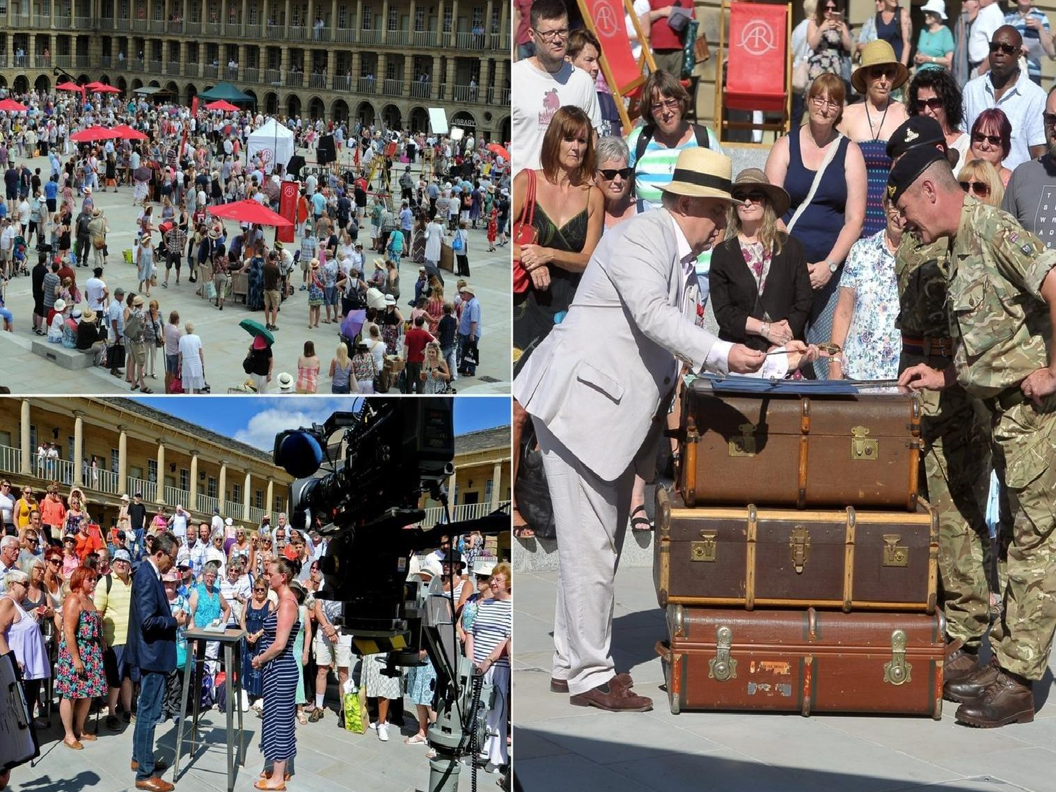Antiques Roadshow at the Piece Hall, Halifax