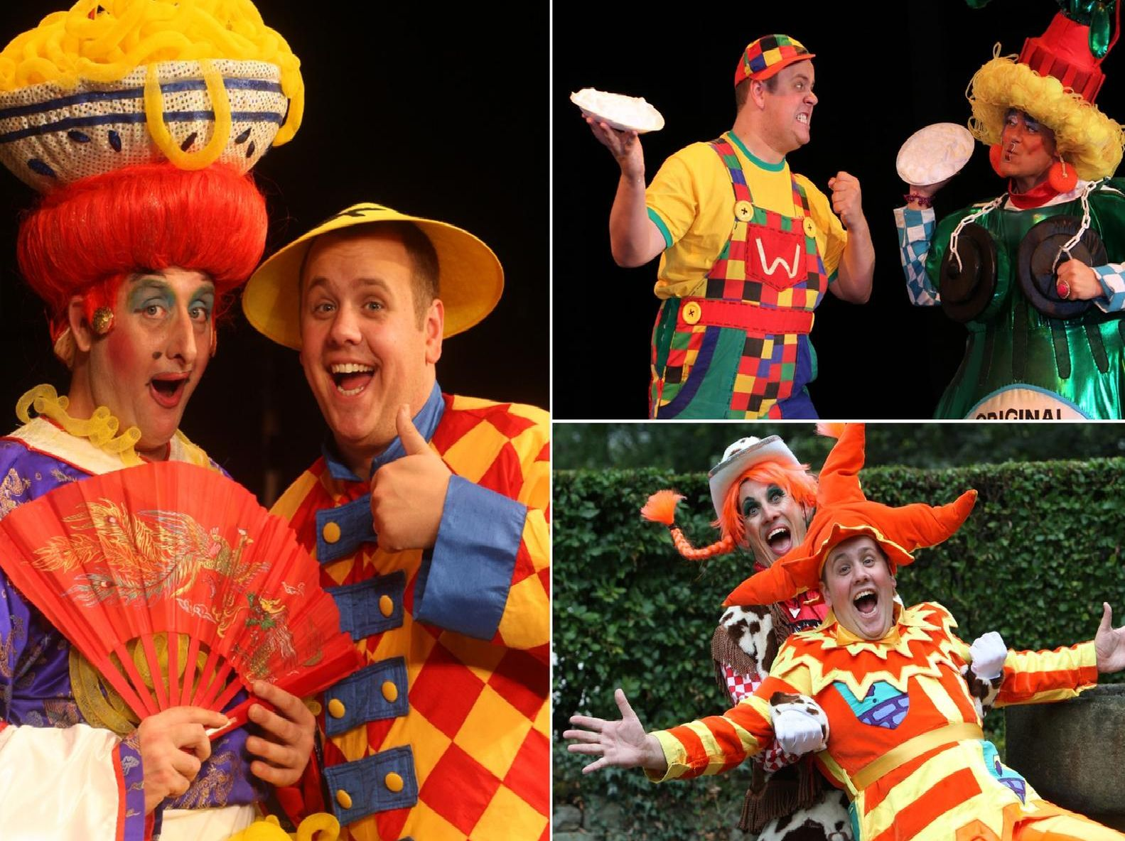 A decade of panto performances for Halifax's Neil Hurst