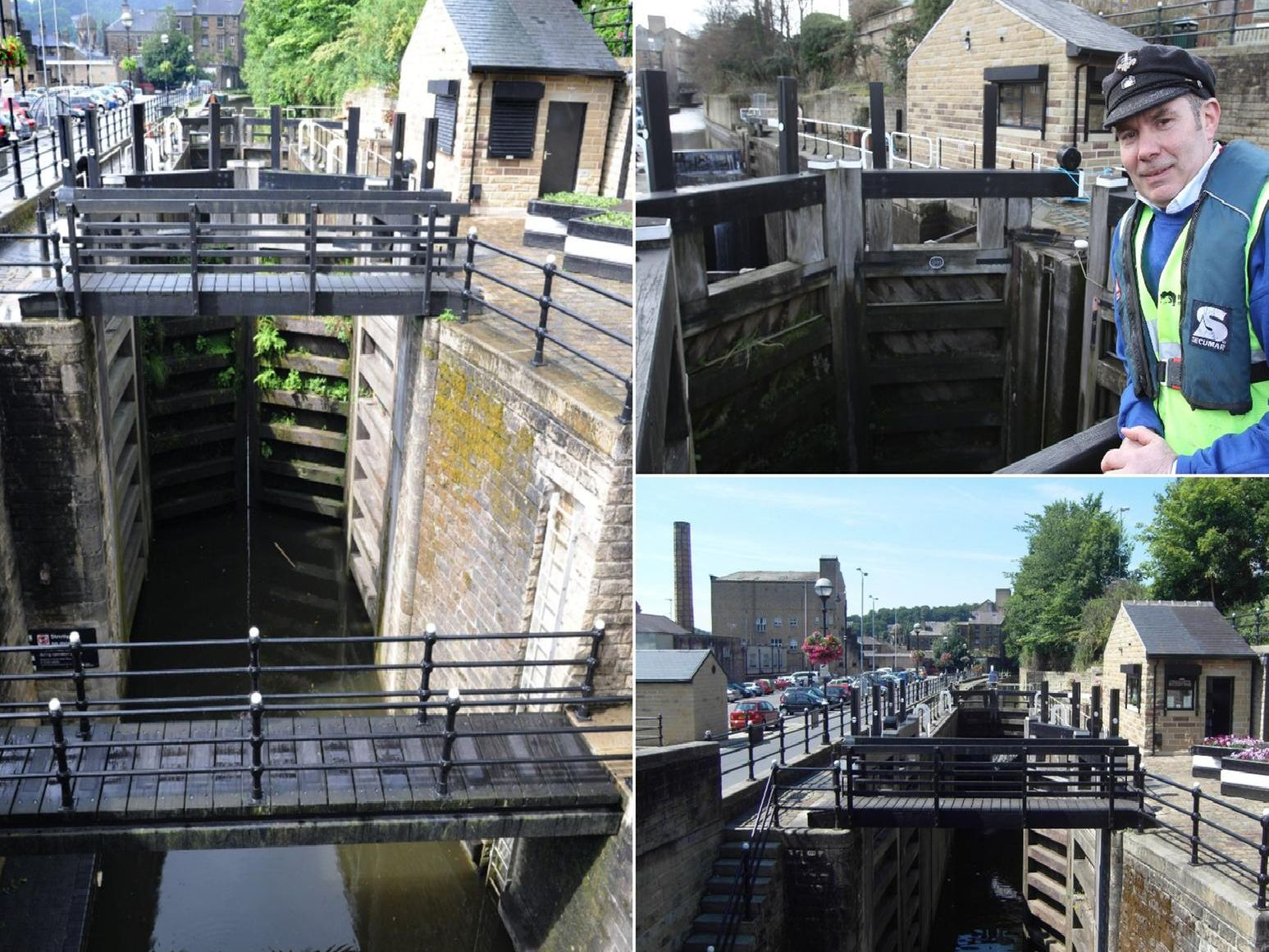 Tuel lane lock in Sowerby Bridge
