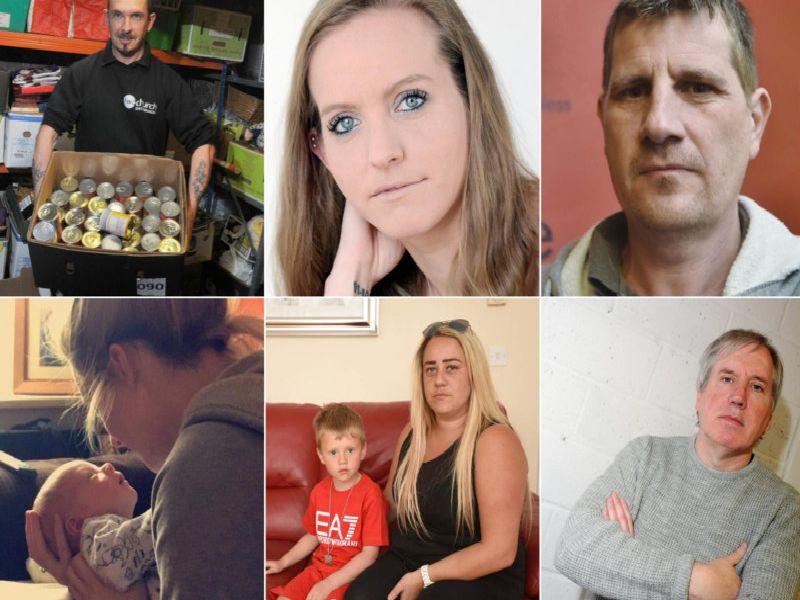 Families have told of their experiences on Universal Credit