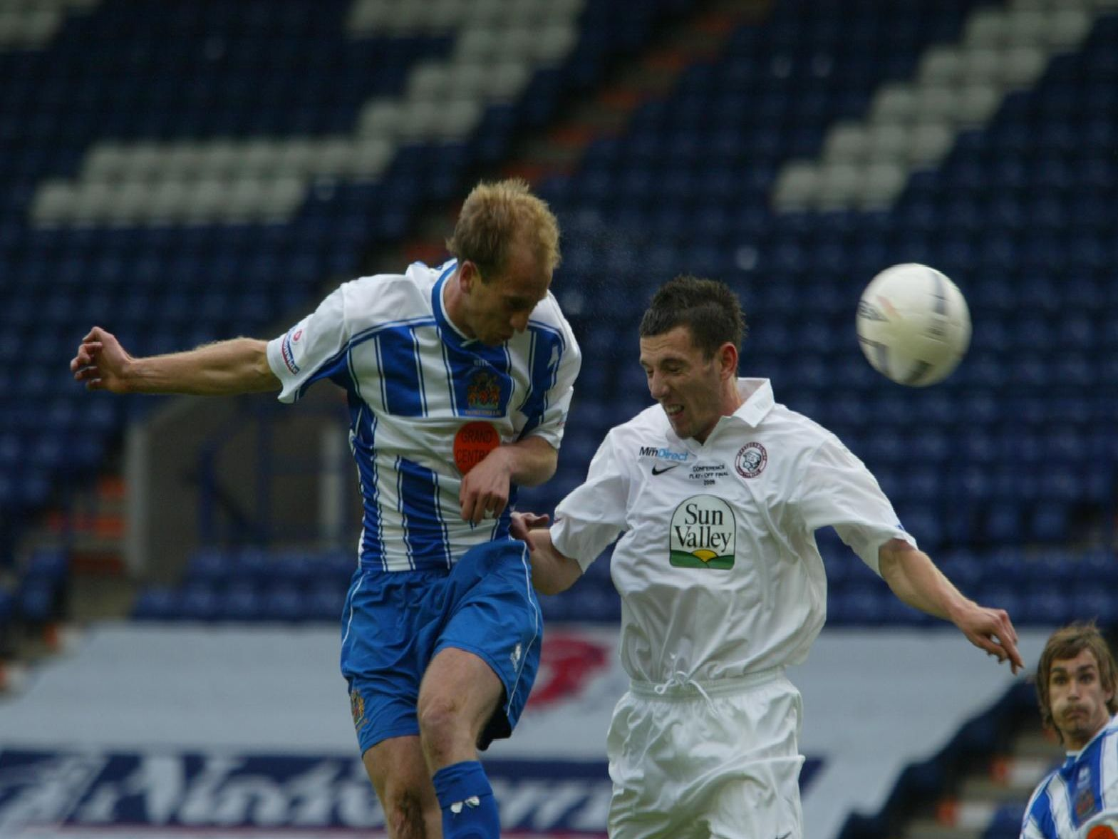 Halifax v Hereford, Conference play-off final, May 2006.