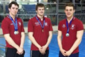 Matthew Rudolph, Charles Lonsborough and Joseph Porter all won medals