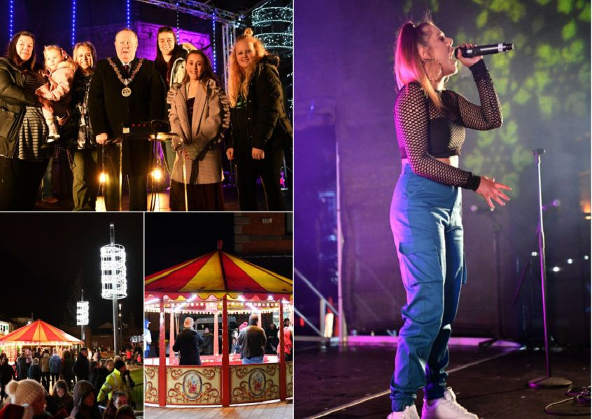 A fun-filled night at the Hartlepool Christmas lights switch-on.