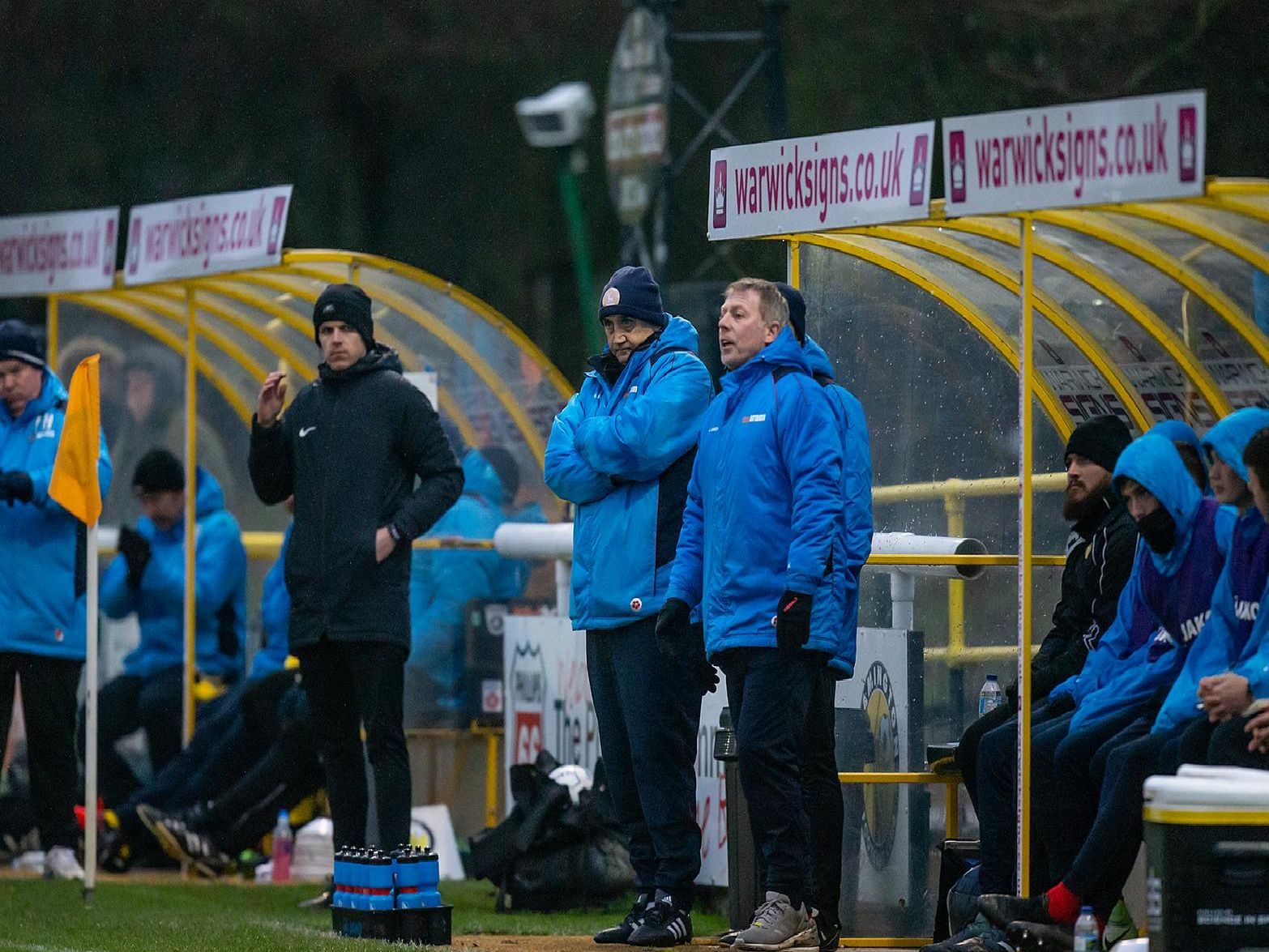 Richard Money was in the Pools dugout for the first time