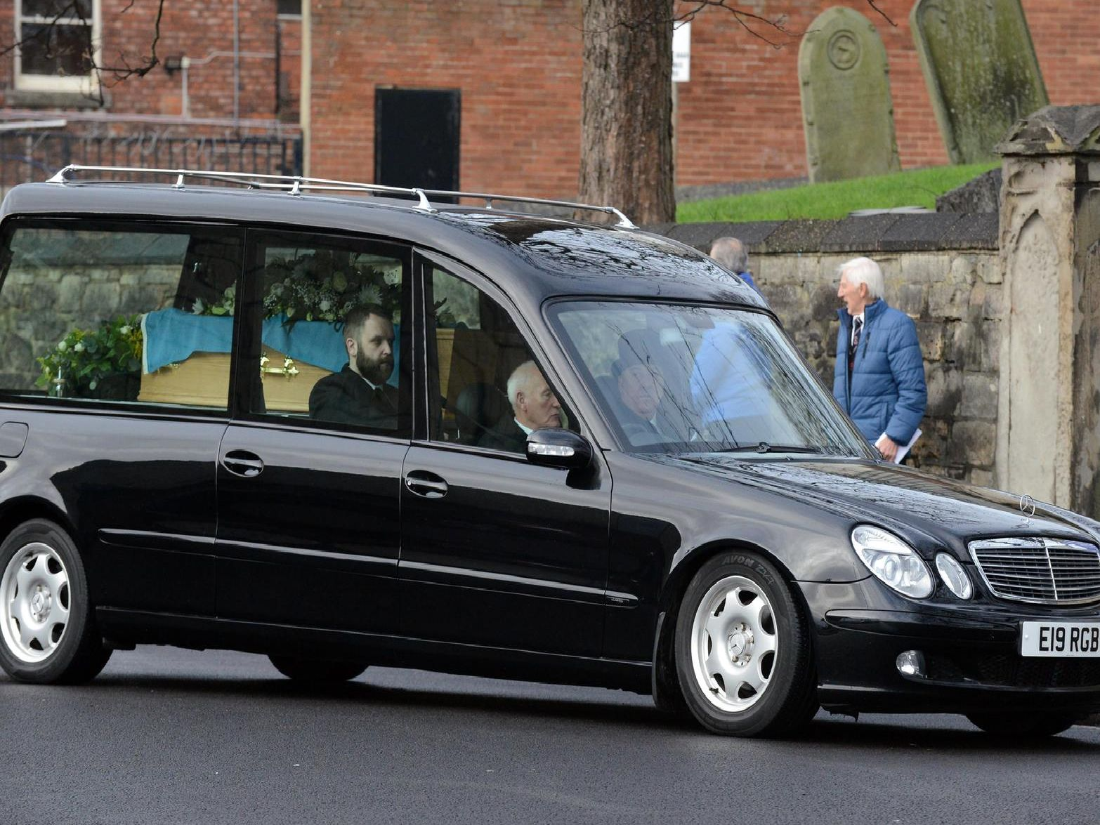 Tommy Johnson's funeral took place on Friday.