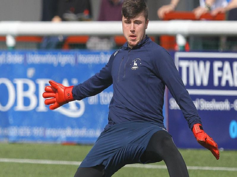 Goalkeeper Ryan Catterick produced a man of the match performance in the Durham Challange Cup.