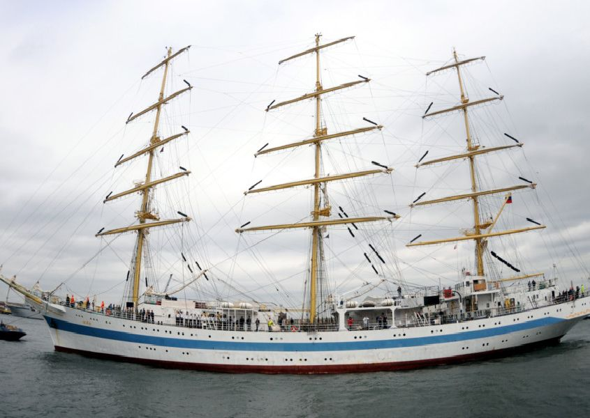 The Tall Ships Races came to Hartlepool in 2010.