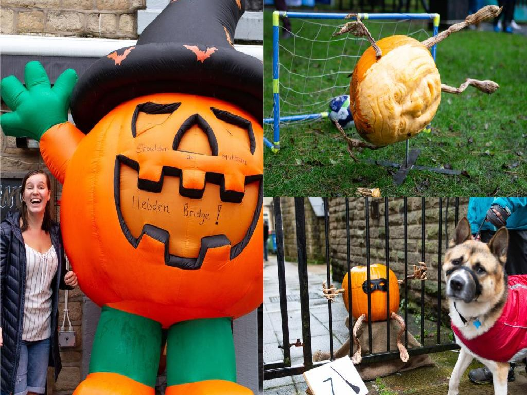 Check out these amazing carvings from this year's Hebden Bridge Great Pumpkin Festival