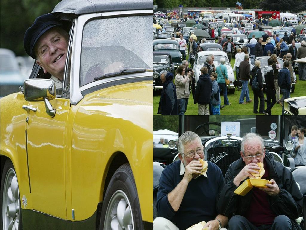 Looking back at classic cars and vintage vehicles ahead of Hebden Bridge Weekend