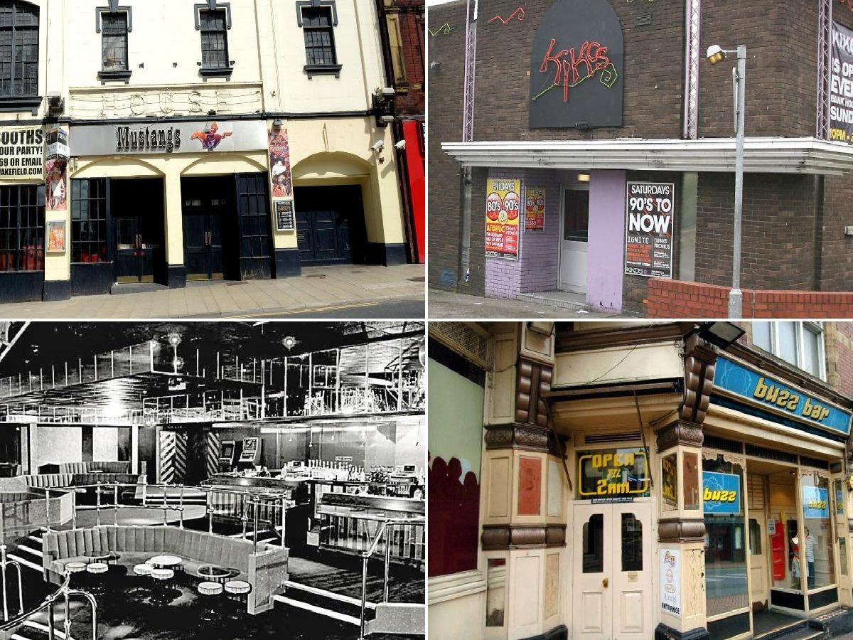 Do you recognise any of these nightclubs from through the years?