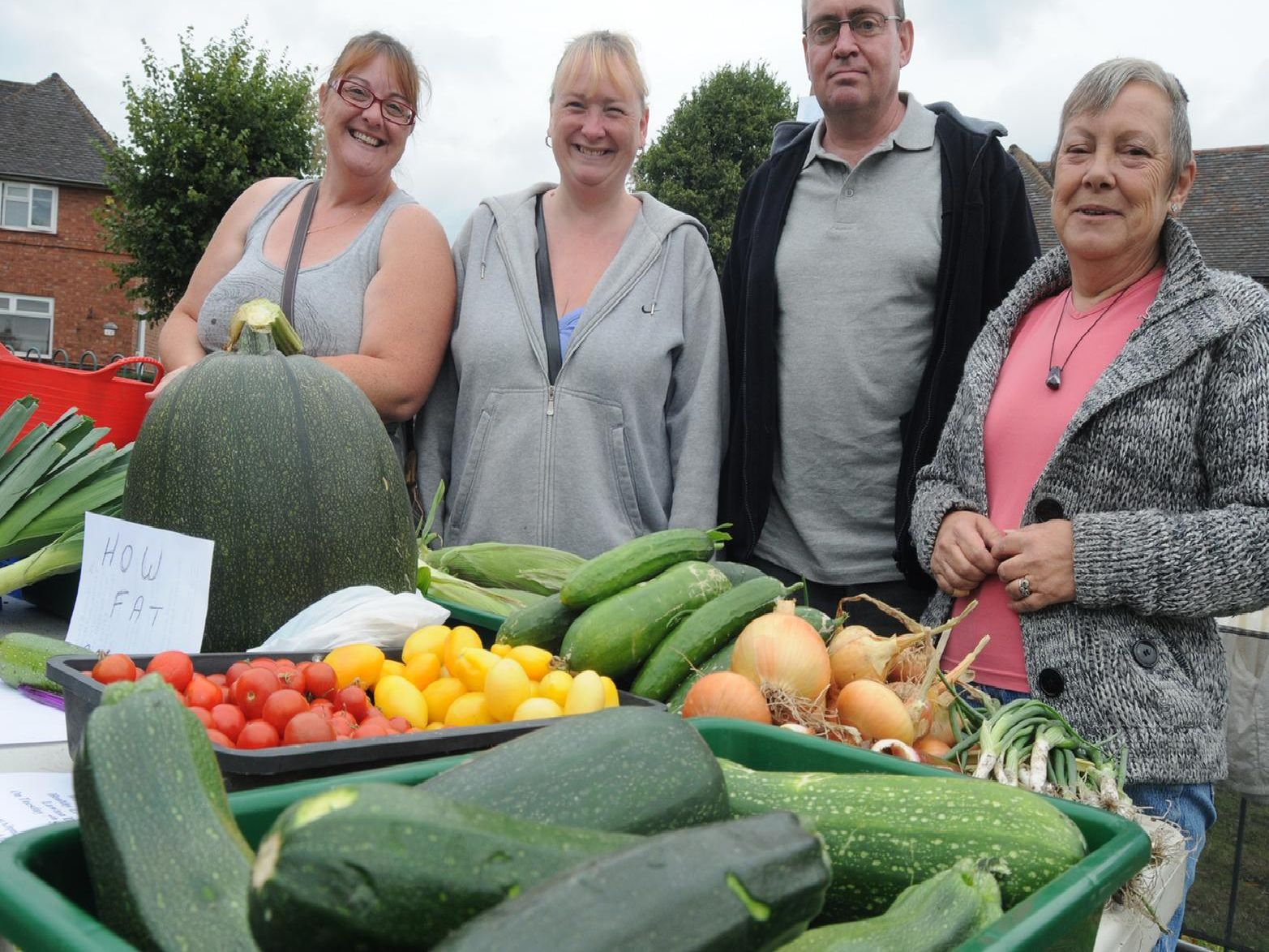 2010: Members of the Bulwell Community Garden pictured at the Bulwell Hall Estate community fun day. Did you go to this event?