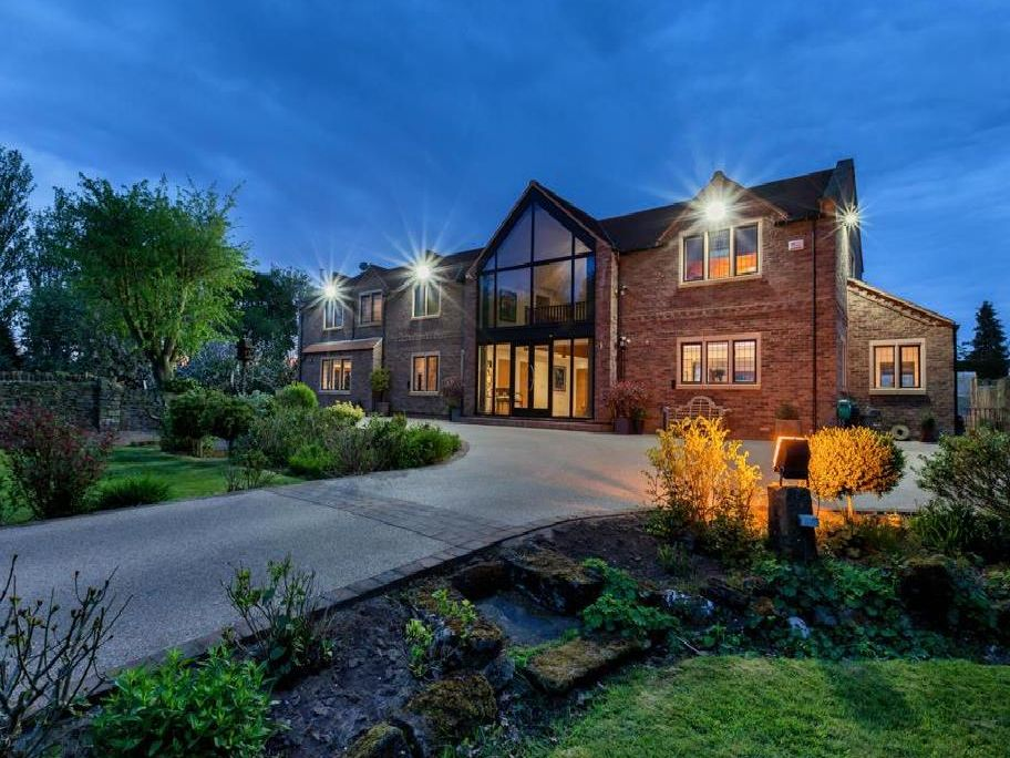 The property is on Morthern Lane in Morthern, close to Rotherham.