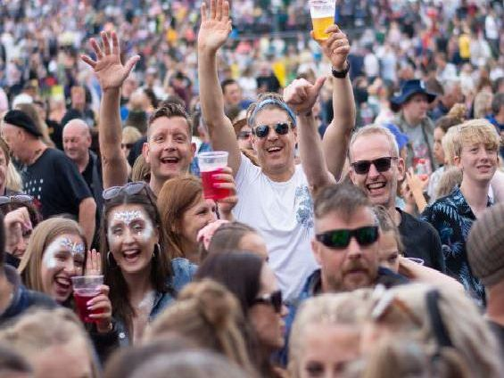 The crowd at Splendour Festival 2019