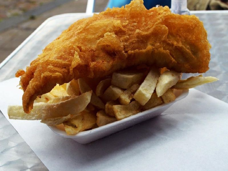 Generic fish and chips image