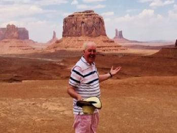 Jimmy Cricket at Monument Valley