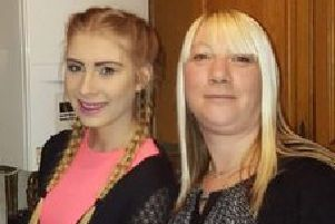 Ann Waterhouse with her daughter Sian.